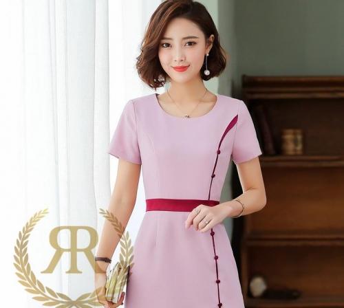 职业装连衣裙,修身优雅又端庄