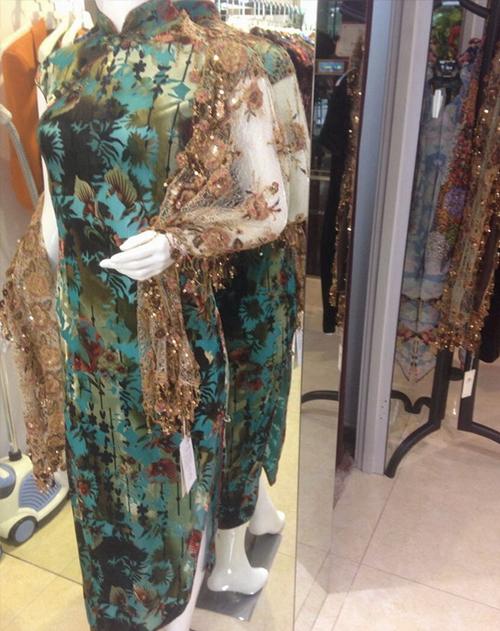时尚中式旗袍定做