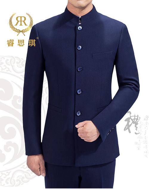 传统中式华服青年学生装定制定做
