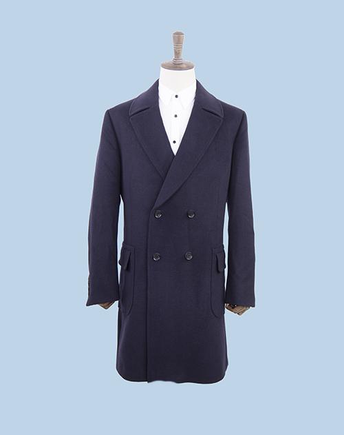 企业团体高端时尚休闲大衣订做