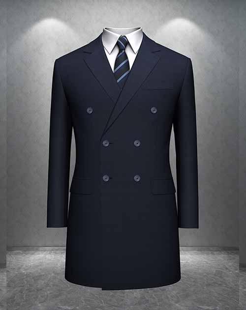 高端时尚休闲大衣订做