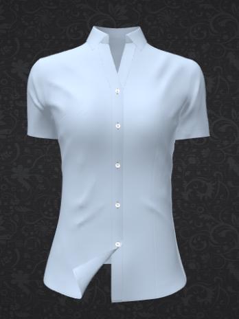 女式免烫衬衣定制