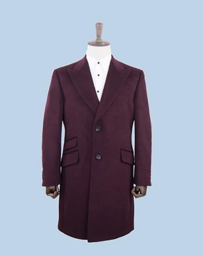 高端时尚经典款大衣定做