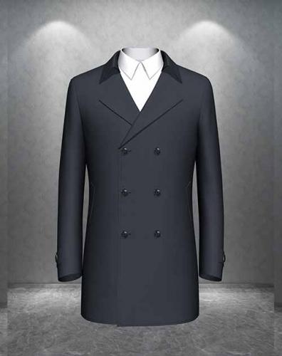 高端团体时尚休闲大衣定制